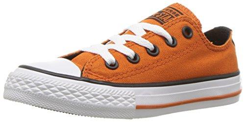 Converse Boys' Chuck Taylor All Star Sneaker, Pumpkin 805, 2 M US Little Kid (Orange Converse Sneakers)