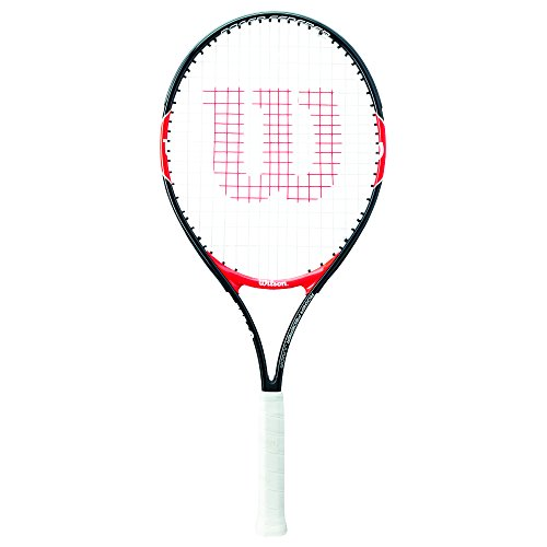 Wilson Children's Roger Federer Tennis Racket, Red/Black, Size 23