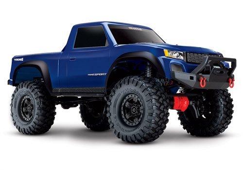 Traxxas 82024-4 TRX-4 Sport 4X4 1/10 Scale Crawler, Blue