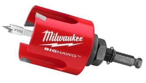 (Milwaukee 49-56-9000 2-1/8-Inch Big Hawg Hole Cutter)