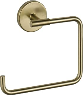 delta faucet 759460cz trinsic towel ring champagne bronze