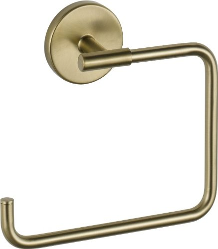 Towel Ring Gold (Delta Faucet 759460-CZ Trinsic Towel Ring, Champagne Bronze)
