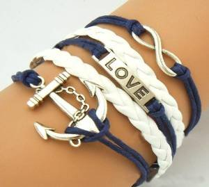 jovana-antique-silver-karma-infinity-bracelet-love-nautical-anchor-blue-rope-knit-weave