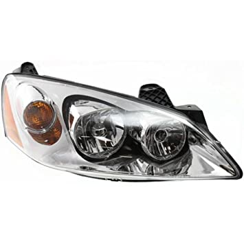 Pontiac G6 Replacement Headlight embly - Penger Side on