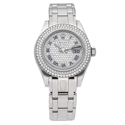 Rolex Pearlmaster Mechanical (Automatic) Diamond Dial Womens Watch 80339 (Certified Pre-Owned)