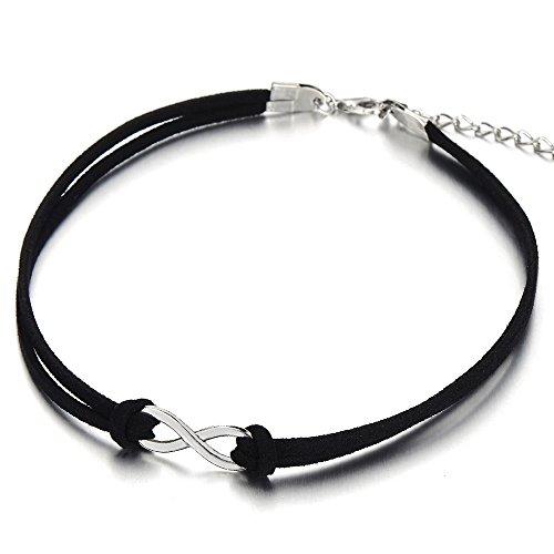Ladies Womens Necklace Infinity Pendant