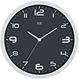 HITO Modern Colorful Silent Non-ticking Wall Clock- 10 Inches (Gray#2)