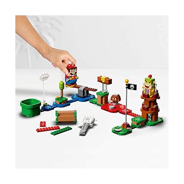 LEGO Super Mario Starter Pack Costruibile per il Percorso di base Avventure con Super Mario, Giocattolo e Idea Regalo… 2 spesavip