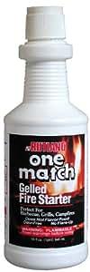 One Match Gel Fire Starter, 16 fl. oz.