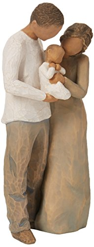 Willow Tree hand-painted sculpted figure, We are Three (27268)