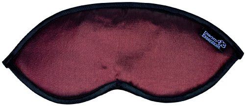 UPC 892929001066, Dream Essentials Dreamer Sleep Mask with A Pair of Earplugs, Burgundy
