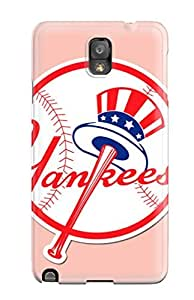 Awesome Design New York Yankees Hard Case Cover For Galaxy Note 3