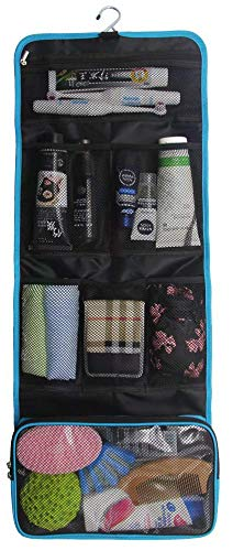 Bulfyss Women Travel Pouches Cosmetic Toiletry Organizer Bag Travelling Makeup Pouch  Assorted Colors