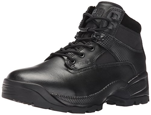 "5.11 Men's A.T.A.C. 6"" Side Zip Boot,Black,9.5 2E US ATAC 6In SIDE ZIP Boot-U"