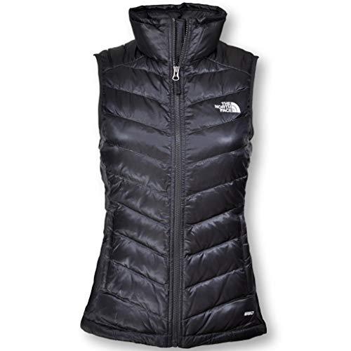 (The North Face Women Flare Down Vest, Asphalt Grey, Large)