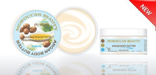 Bti Skin - New!!! Moroccan Beauty Argan Body Butter - New Concept Two Layer Body Butter