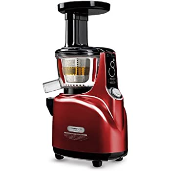 Amazon.com: Kuvings NS-940 Silent Upright Masticating Juicer, Red: Electric Masticating Juicers ...