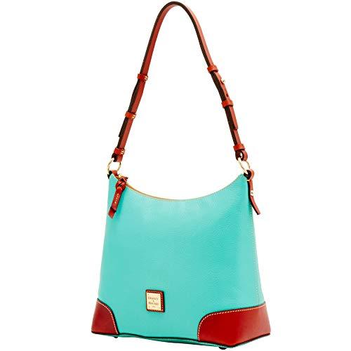 Hobo Dooney Shoulder Bourke Bag Aqua Pebble amp; 8HRHz