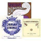 Thomastik Spirocore Custom Cello String Sets Jargar A and D, Spirocore Chrome G and C - Medium
