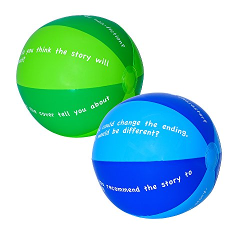 (Reading Comprehension Beach Balls/ Beach Balls for Reading Comprehension Games)