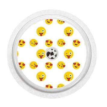Freestyle Libre Sensor Vinyl Sticker Emoji