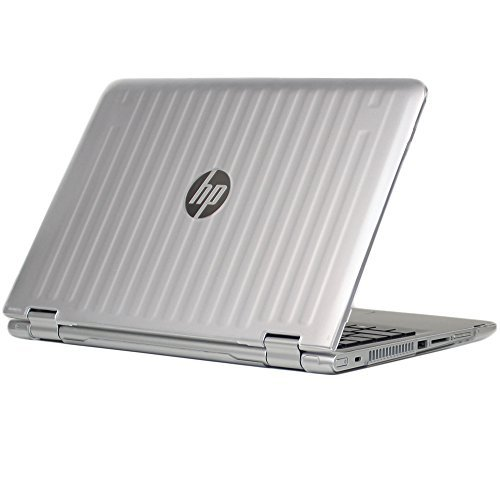 iPearl mCover Hard Shell Case for 13.3 HP Pavilion 13-Sxxx Series (13-S120nr / 13-S128nr, etc) X360 Convertible 2-in-1 laptops (Clear)