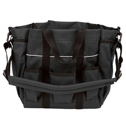 Roma Deluxe Grooming Tote - Color:Black Size:One Deluxe Tack