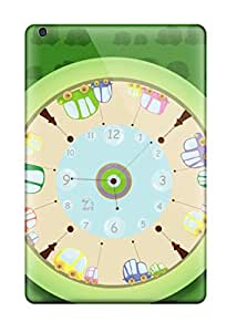 DateniasNecapeer Cases Covers For Ipad Mini - Retailer Packaging Clock Screensaver Protective Cases