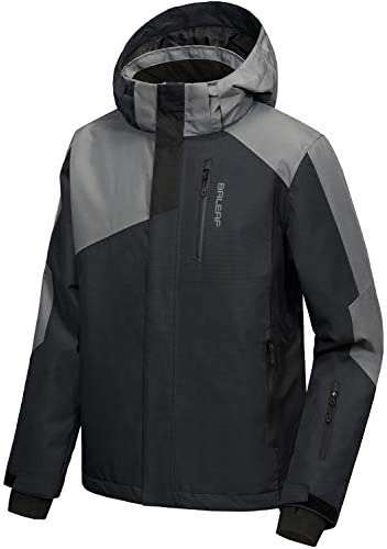 BALEAF/ Mens/ Ski Pants Windproof Snow//Snowboarding/ Insulated/ Pants Windbreaker//Waterproof 5K//5K