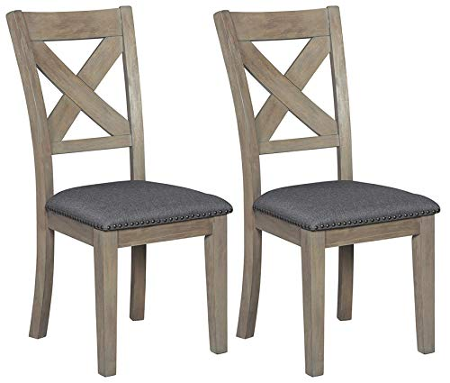 Signature Design by Ashley D617-01 Dining Room Chair, Aldwin (Wood Barn Chairs)