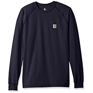 Best Epic Trends 41TYUDvoU9L._SS300_ Carhartt Men's Flame-Resistant Force Long Sleeve T-Shirt Class 3
