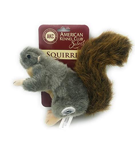 Dog Toy American Kennel Club - AKC American Kennel Club Plush Squirrel with Squeaker Premium Dog Toy