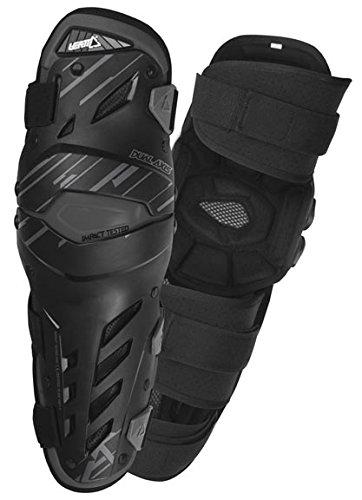Leatt Dual Axis Knee Guard (Black, Small/Medium)