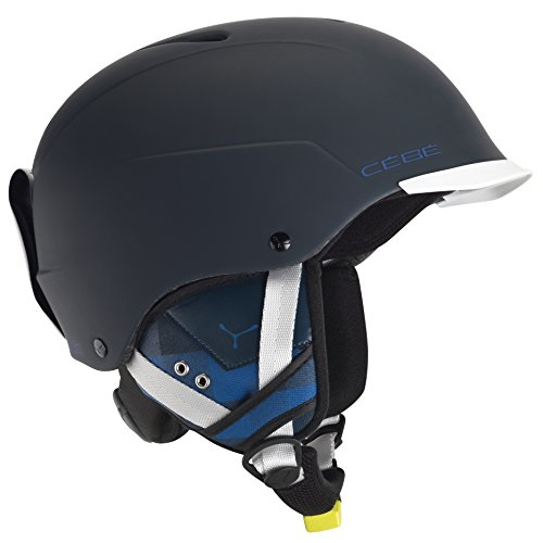 CEBE CONTEST VISOR SKI HELMET (MATTE BLUE SIZE - Cebe Helmets Ski