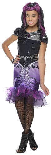 Rubie's Ever After High Deluxe Raven Queen Costume, Child's (Junior High Costumes)