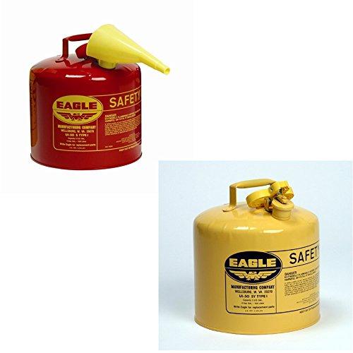 Eagle UI-50-FS Metal - Red w/F-15 Funnel w/UI-50-SY Metal - Yellow (Diesel) by Eagle