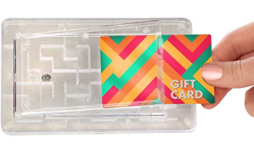 Tech Tools Gift Card Maze - Brain Teasing Money Puzzle for Cash or Gift Cards - Fun Gift Card Holder