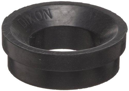 "Dixon Air King AWR4 Air Hose Black Natural Rubber Washer, 1-5/16"" Diameter (Pack of 50)"