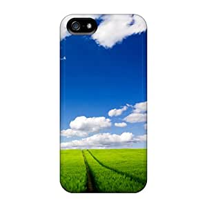 TinaMacKenzie Slim Fit Protector CFq36778LWnd Shock Absorbent Bumper Cases For Iphone 5/5s