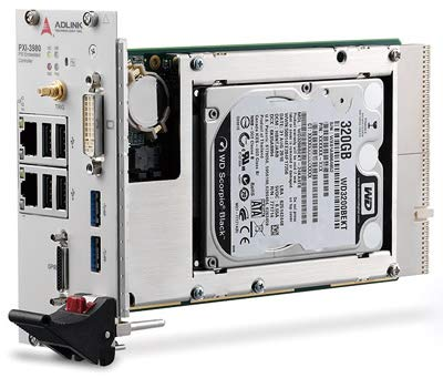 (DMC Taiwan) PXI Controllers, 3U PXI Core I7-2715QE 2.1 Ghz System Controller with 4GB Memory & 500GB (or Greater) HDD