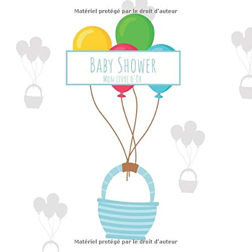 Baby Shower Mon Livre D Or Livre De Rappel Pour La Saisie