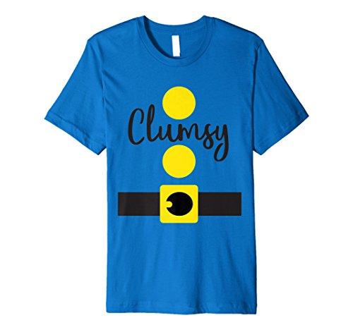 Clumsy Dwarf Halloween Costume Shirt, Matching Dwarves Set ()