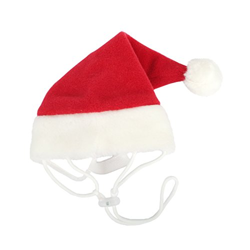 Puppia Santa Claus Hat, Medium, (Puppia Santa)