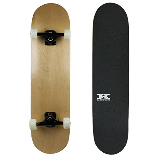 PRO Skateboard Complete Pre-Built NATURAL 8.0