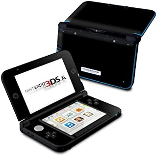 product image for Solid State Black - DecalGirl Sticker Wrap Skin Compatible with Nintendo Original 3DS XL