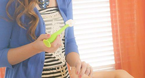 BabyBum Diaper Cream Brush, Blue Full Size + Green Mini (2-Pack) by Baby Bum Brush (Image #3)
