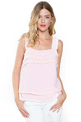 Sugar Lips Lili Cami Top - XS (Lip Pastel)