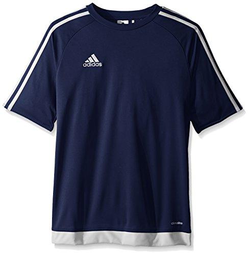 adidas Estro 15 Jersey (Little Big Kids), Dark Blue/White, X-Large