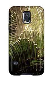 Anti-scratch And Shatterproof Heavy Rain Nature Phone Case For Galaxy S5/ High Quality Tpu Case