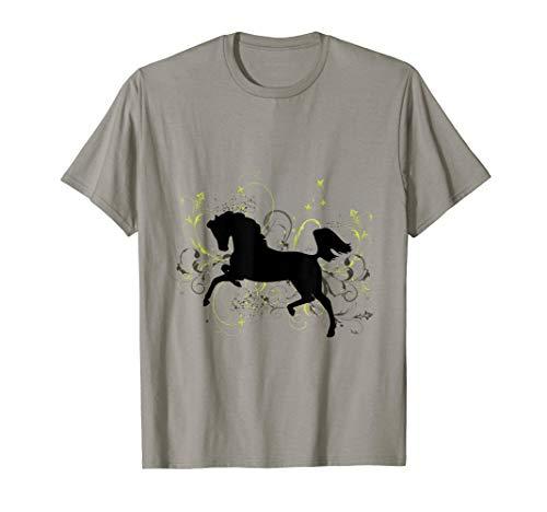 (Leaping Arabian Horse T-Shirt )